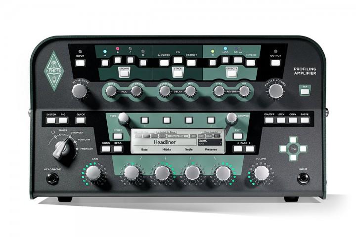 Kemper Profiler Power Head BK+remote