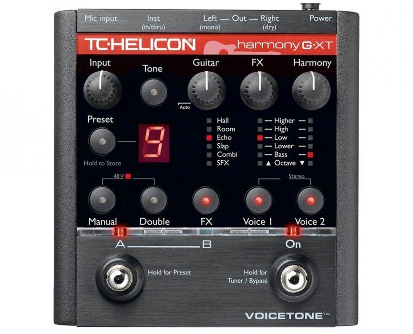 TC Helicon Voicetone Harm.G XT