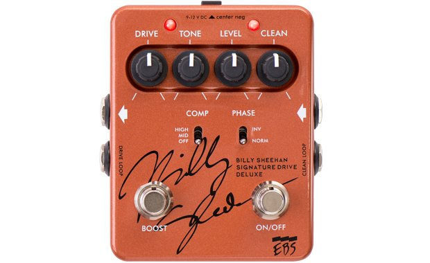 EBS BSD Billy Sheehan Drive DeLuxe