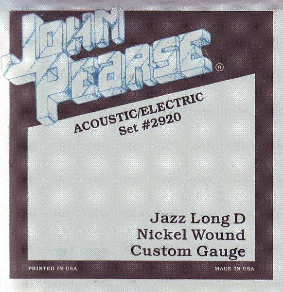 John Pearse 2920 Jazz kytara