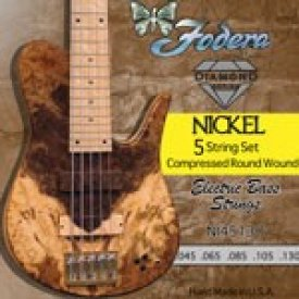 Fodera Ni28100  V strings